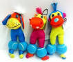 Chomper Balloonz Squeaker Dog Toy - COW (B.A12)