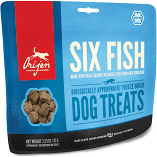 **BOGO** Orijen Freeze-Dried Dog Treats Six Fish 1.5 OZ (3/19) (L.C7)