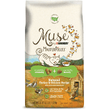 PURINA MUSE NATURAL TURKEY & CHICKEN GF 3.5 LBS DRY CAT FOOD (6/19) (A.O8)