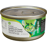 SOLID GOLD FIVE OCEANS SARDINES & TUNA RECIPE IN GRAVY CATS & KITTENS GF/GF 3 OZ 12 CANS (7/19) (A.P8)