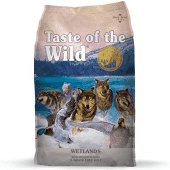 TASTE OF THE WILD WETLANDS CANINE RECIPE GF W/ROASTED FOWL 30 LBS (3/19) (A.Q6/G4/O5)