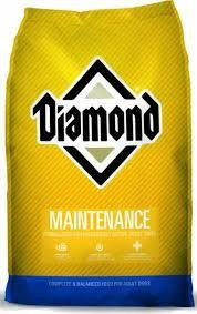 Diamond Maintenance Dog Food 50 lbs (4/19) (A.L4/B) $$$ SAVE BIG Buy 20 Bags (1000 Pounds) ONLY 44 Cents/lb or 40 Bags (2000 Pounds) ONLY 42 Cents/lb.$$$