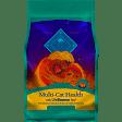 BLUE Multi-Cat Health Adult Cat Dry Food Deboned Chicken & Turkey 7 lbs (4/19) (A.L5)