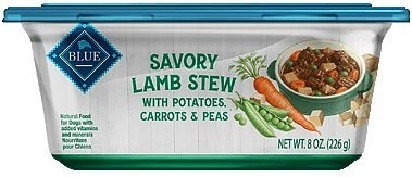 Blue Buffalo Lamb Stew with Potatoes, Carrots & Peas Wet Dog Food - 8oz SINGLES 1 COUNT (5/19) (A.P8)