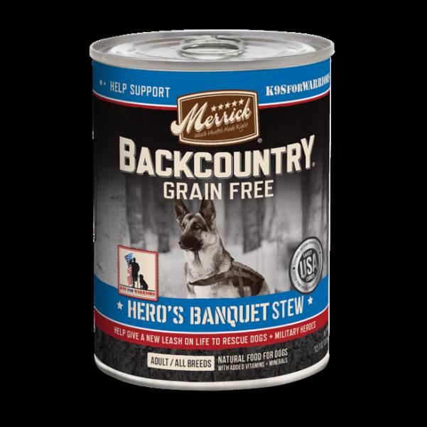Merrick Backcountry Heros Banquet Stew GF 12.7 OZ SINGLES (1 Count) (3/19) (SINGLES)