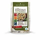 Nature's Variety Instinct Raw Market Meal Blends Beef Recipe Freeze Dried Food for Dogs, 16 oz.  (7/19) (A.R2)