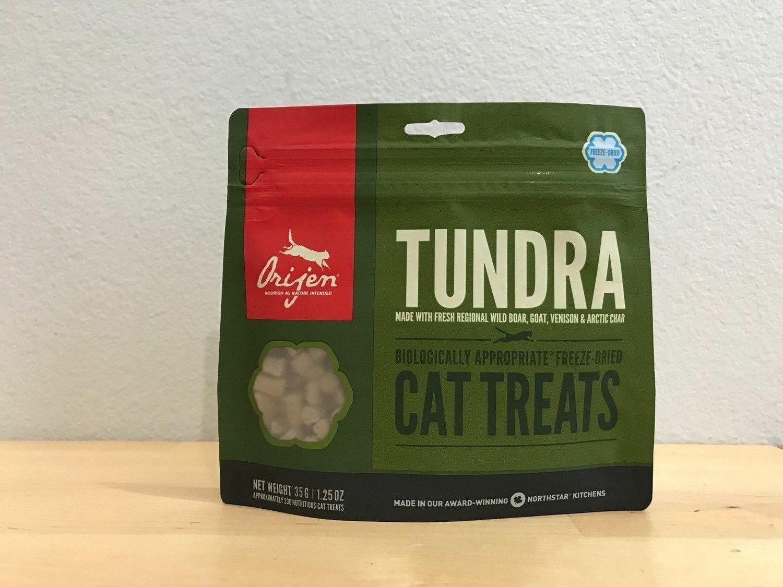 Orijen Freeze-dried Tundra Cat Treats 1.25oz (5/19) (A.Q5)