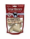 SmartBones Butcher's Cut Long-Lasting Mighty Chew for Dogs (4 Pack), Small (3/18) (T.E3)