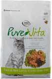 PureVita Duck & Red Lentils Grain Free Cat Food 15 lbs (6/19) (A.I1)