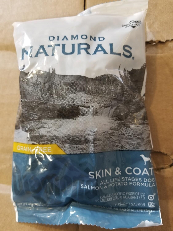 DIAMOND NATURALS SKIN & COAT ALL LIFE STAGES DOG SALMON & POTATO FORMULA 6 OZ (4/19) (B/DDS)