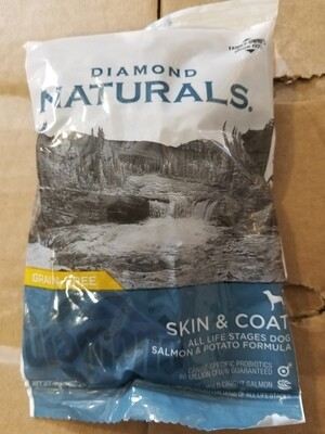 DIAMOND NATURALS SKIN & COAT ALL LIFE STAGES DOG SALMON & POTATO FORMULA 6 OZ (4/19) (A.J3/B/DDS)