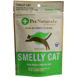 Pet Naturals Of Vermont Smelly Cat Fun-shaped Chews 45 chews (T.D3)