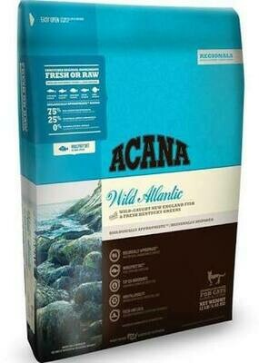 Acana Regionals Wild Atlantic Dry Cat Food 12 oz (12/18) (A.P6/CD)