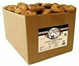 Basil & Baxter's Cinnamom Oatmeal Bagel Dog Biscuits 10 lbs (05/19) (A.H4/DT)