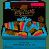 Merrick Fresh Kisses Grain Free Mint Breath Strips Dog Treat Box - 25 Count #66037 (02/19) (A.Q6)