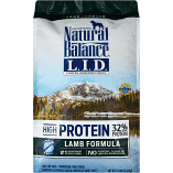 Natural Balance L.I.D. Limited Ingredient Diets High Protein Lamb Dry Dog Food 12 lbs (04/19) (A.R7/DD)