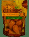 Premium Pork Chomps Drumstickz Chicken Dog Treats, Small 8 count (1/19) (A.R7) (A.R7)