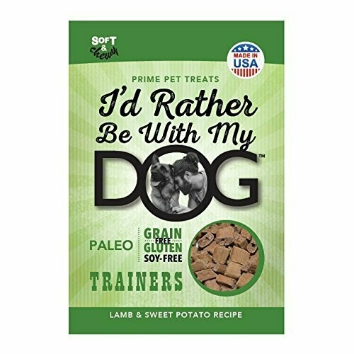 Id Rather Be With My Dog Trainer Lamb & Sweet Potato 12 oz (01/19) (A.D2/DT)