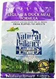Natural Balance L.I.D. Limited Ingredient Diets Diets Legume & Duck Meal Dog Food 4.5 lbs (02/19) (A.M5)