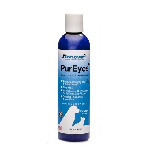 PuEyes Cat & Dogs Natural Tear & Saliva Stain Remover 120ml (O.D3)