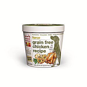 Honest Kitchen The Force Grain-Free Single Serve 3 oz Cup Dog Food - Natural Human Grade Dehydrated Dog Food, (10/18) (A.I1)