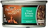 Pro Plan Trout and Pasta Entr e Cat Food in Sauce (3-oz, case of 24) (11/19) (A.L1)