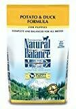 Natural Balance L.I.D. Limited Ingredient Diets Grain Free Potato and Duck Puppy 4.5 lbs (8/19) (A.Q7)