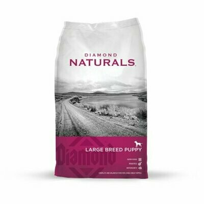 Diamond Naturals Dry Food For Puppy, Large Breed Lamb And Rice Formula, 6 Pound (7/19) (A.N8)