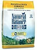 Natural Balance L.I.D. Potato & Duck Puppy Formula Dry Dog Food, 24 lb (7/19) (A.R4/A.A3)