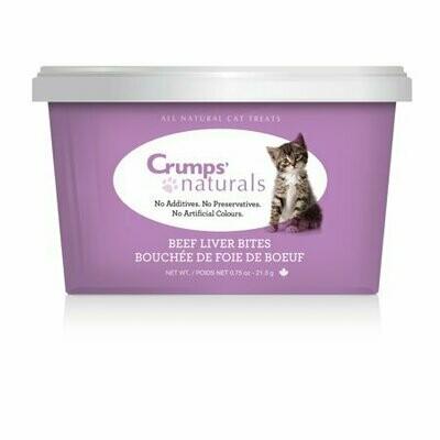 **BOGO** Crump Naturals - Beef Liver Bites Cat Treats - 0.76 Oz. (9/19) (T.A3)