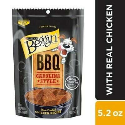 Purina Beggin' Bbq Carolina Style Slow Cooked Chicken Recipe Dog Treats 5.2 Oz (5/19) (T.A12)