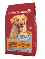 """DISCONTINUED Muenster Perfect Balance Dry Dog Food """"Maintenance"""" No Corn, No Soy, No Wheat **40 Pound Bag** (A.D1)"""