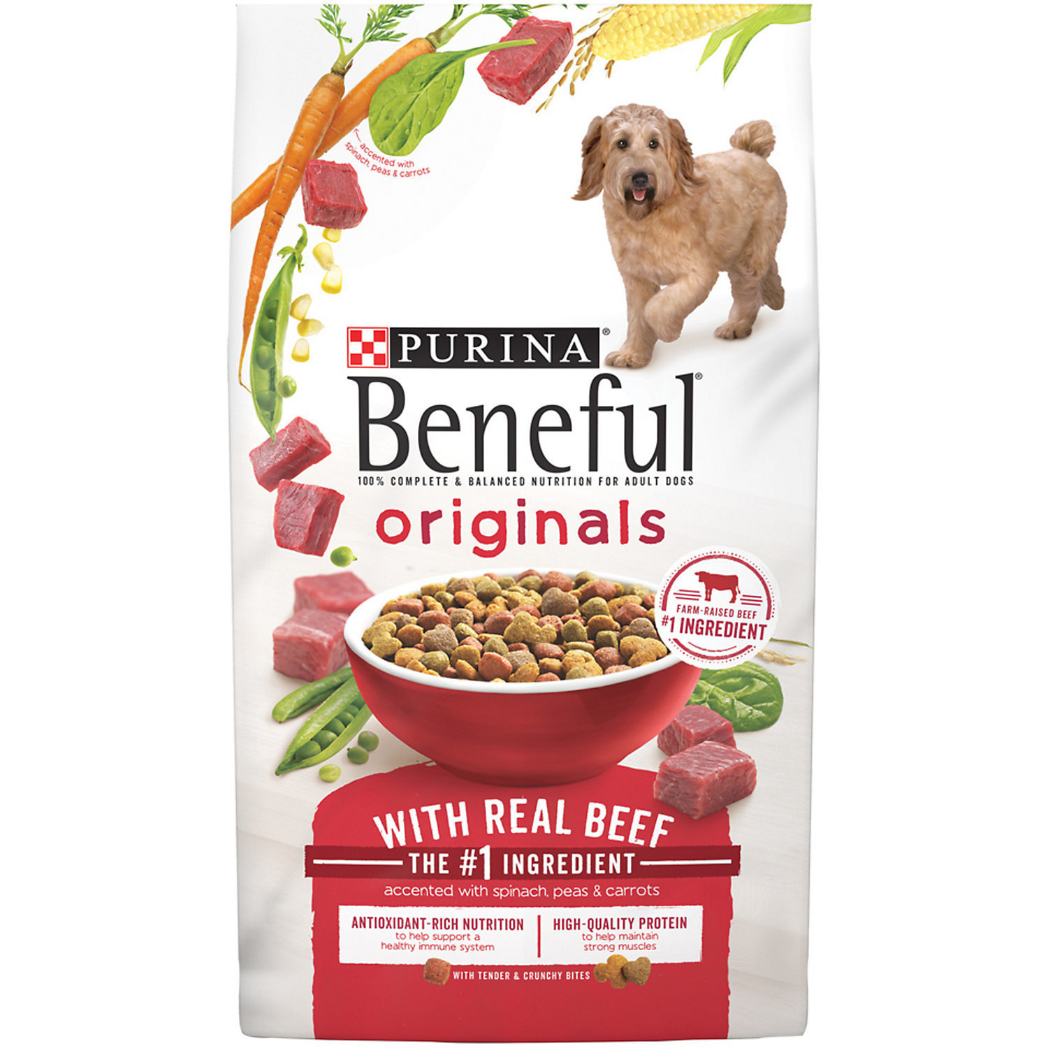 Beneful Originals Beef Adult Dog Food, 6.3 lbs. (9/18) (A.I2)