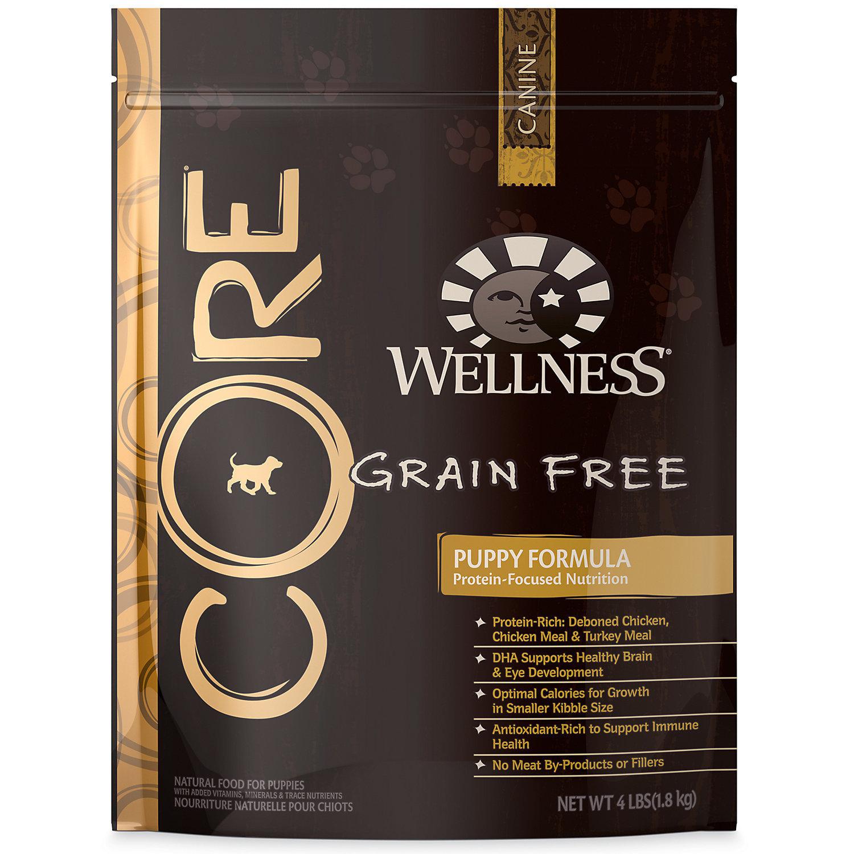 Wellness CORE Puppy Food, 4 lbs.  (5/19)  (A.M5)