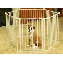 Carlson Pet Gates Convertible Pet Yard: 28 Tall x 144 Circumference **May Be Open Box** (A.Q3)