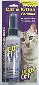 **SALE** Urine off Cat/Kitten Spray, 4-Ounce   **SALE** (O.L3)