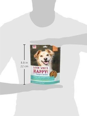 **SALE** Look Who's Happy! Tempt'n Tenders Chicken & Pumpkin (4 Oz) (11/18) (T.D8/DT)