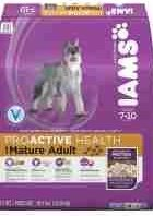 Iams ProActive Health Mature Adult  Chicken Dog Food, 29.1 lbs. (07/18) (A.A2)