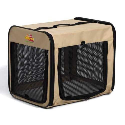 "Canine Camper Day Tripper-Single Door-Folding Soft Crate-42"" (B.W3/AM8)"