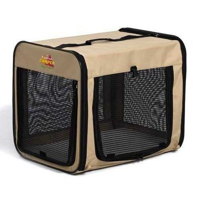 Canine Camper Day Tripper-Single Door-Folding Soft Crate-42
