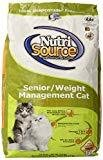 Tuffy's Pet Food NutrSource Senior Weight Management Chicken/Rice Dry Cat Food Food 6.6 lbs. (8/18) (A.K1)