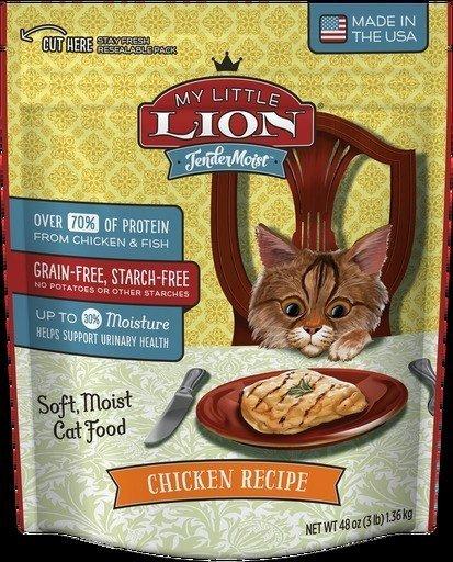 American Nutrition Tendermoist My Little Lion Cat Tendermoist Chicken Cat Food - 3 lb. (5/18) (RPAL-J2)