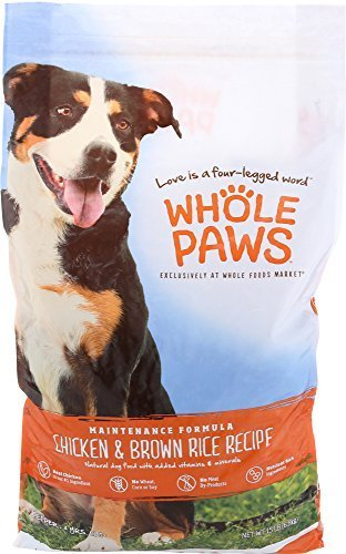 Whole Paws Maintenance Dog Formula in Chicken & Brown Rice Recipe 15 lbs. (2/19) (A.N7)