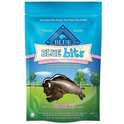 **SALE** Blue Buffalo Blue Bits Salmon Dog Training Treats, 4 oz. (12/18) (T.C4/DT)
