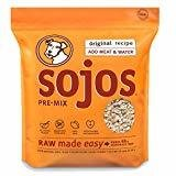 Sojos Pre-mix Original Freeze-dried Raw Dry Dog Food Mix, 10-pound Bag (10/18) (A.K3)
