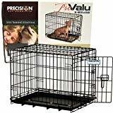 Precision Pet Pro Valu Great Crate - One Door: Model 1000 - 19 x 12 x 14 - Dogs **May Be Open Box** (B.W4)