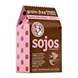 Sojos Grain-Free Dog Treats Duck & Cherry 10 oz (12/18) (A.G1)