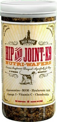 Dale Edgar Hip and Joint K9 Nutri Wafer - 56 Count (11/18) (O.V2)