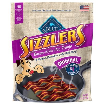 Blue Buffalo Kitchen Cravings Pork Sizzlers Dog Treats, 6 oz. (12/18) (T.A5)