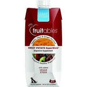 Fruitables Sweet Potato Superblend Digestive Supplement Dog 16.9 0z Made In Usa (9/18) (A.I2/O.U5)